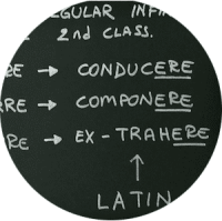 Italian Irregular Infinitives