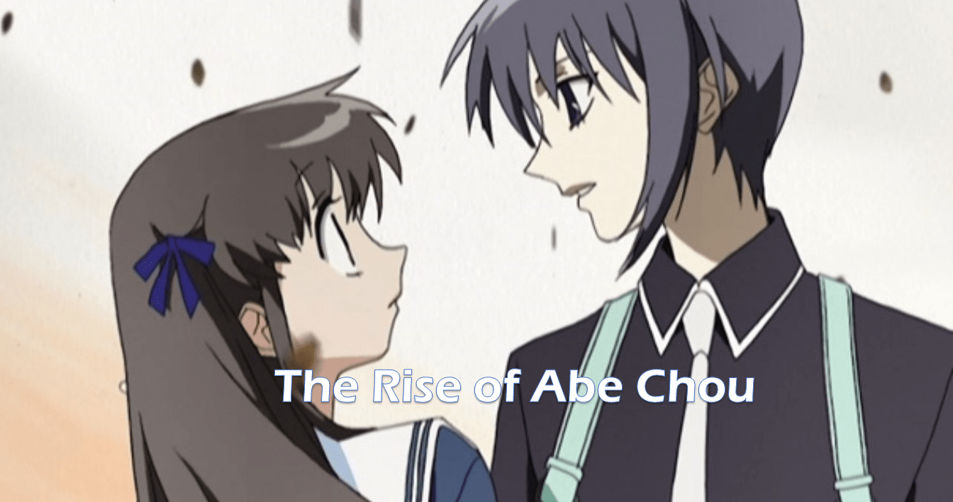 The Rise of Abe Chou Novel Cover Image