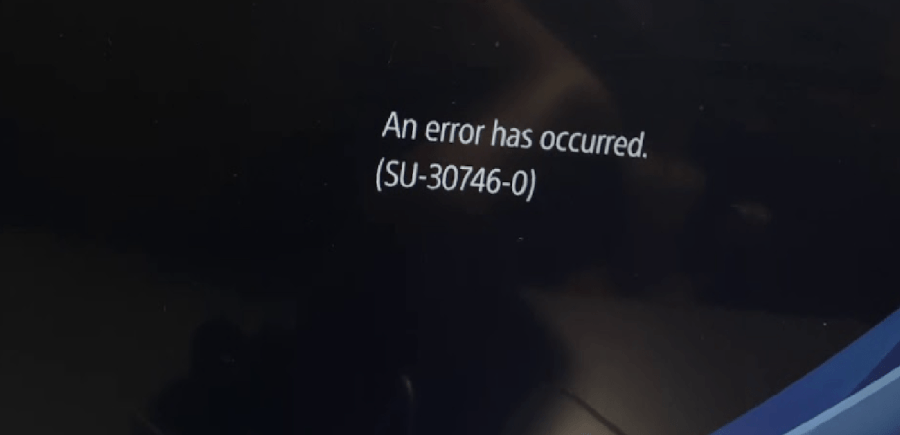 Image of What is PS4 Error Su-30746-0