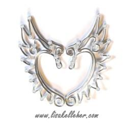 Angel Elf Ears Silver Moonlight