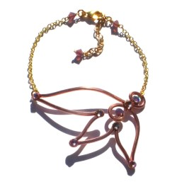 Fairy Wing Anklet Rose Gold