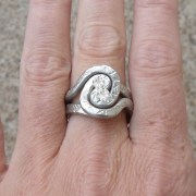 pewter-spiral-ring-adjustable-display