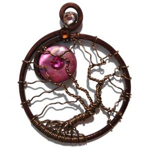 Tree of Life Blood Moon Bronze