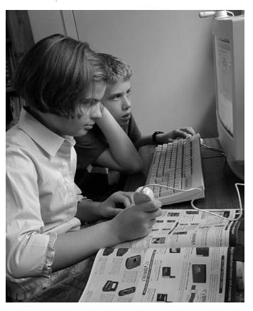 FIGURE 6.1 Do computers make students smarter?