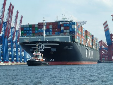 Worldwide container shipping files