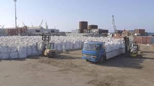 Loading FIBCs at port to trucks