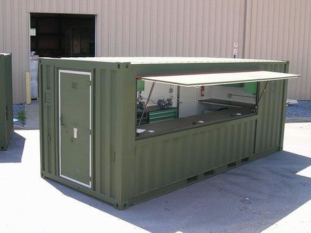 mobile workshop container