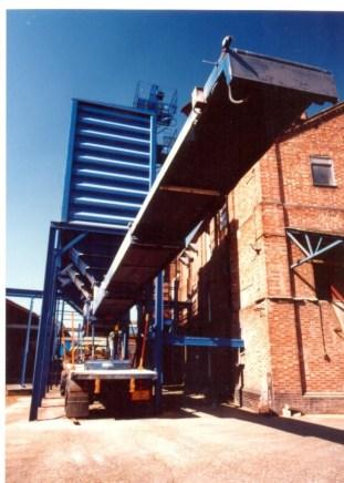 telescopic conveyor loading