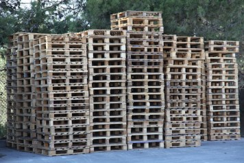 storage of empty pallets