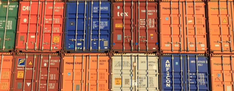 transport bulk in containers