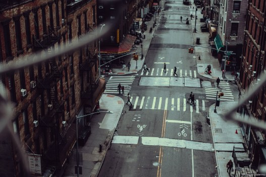 capture one RAW photo editor get creative with color blogpost jesper palermo NYC street crossing from above
