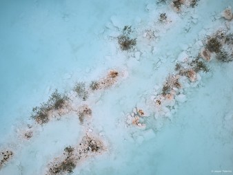 capture one RAW photo editor get creative with color blogpost jesper palermo aerial view of shallow sea