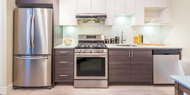 to clean stainless steel appliances