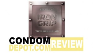 Condom Review: Caution Wear Iron Grip