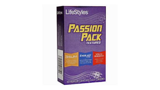 LifeStyles Passion Pack