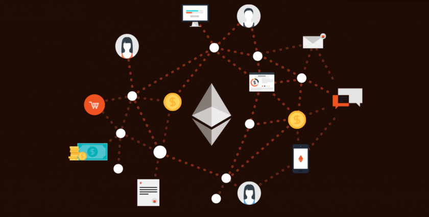 Ethereum Infographic of applications and coins