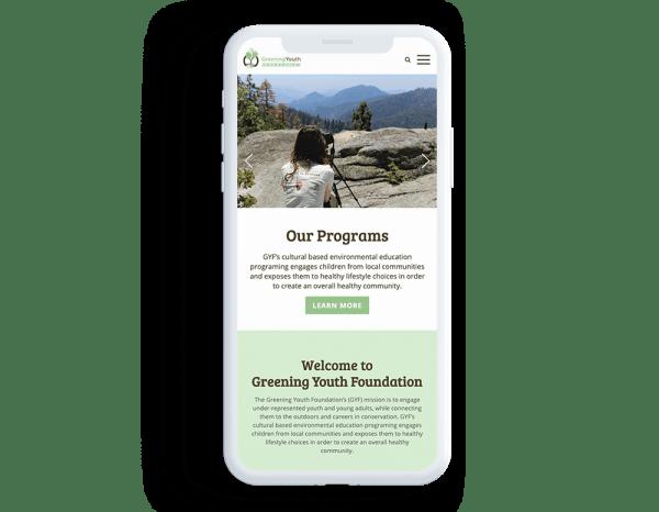 mobile navigation for website