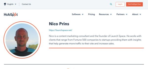 nico page