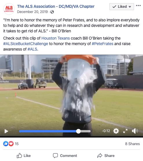 social media trends als ice bucket