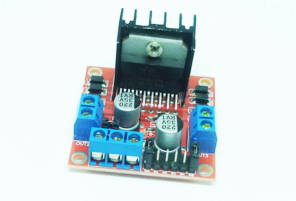 How to use H-BRIDGE DUAL Motor driver module