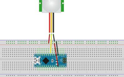 Using HC SR501 PIR motion sensor with arduino