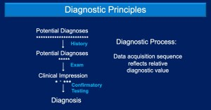 Basic principles in diagnostic testing