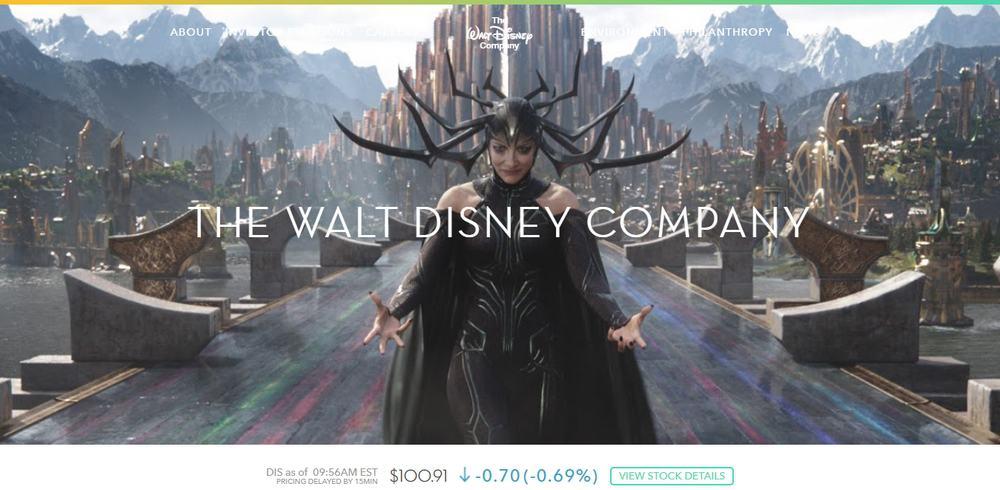 The Walt Disney Company uses WordPress