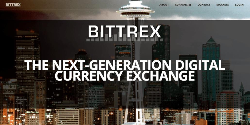 Coinbase alternative #3: Bittrex