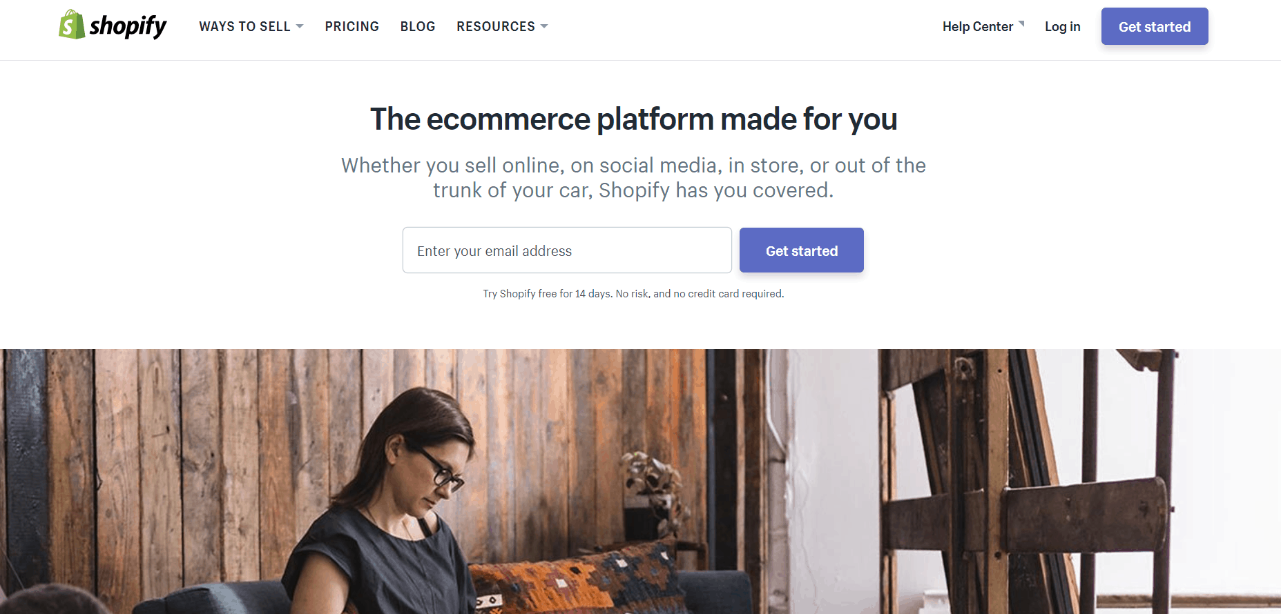 Shopify is built with Ruby on Rails