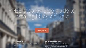 Install Rails