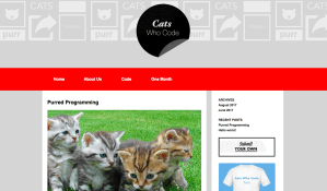 wordpress online course project