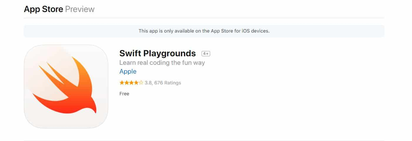 Learn Mobile App Development with Swift Playground