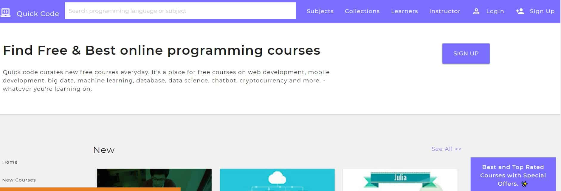 Learn to Code with Quick Code