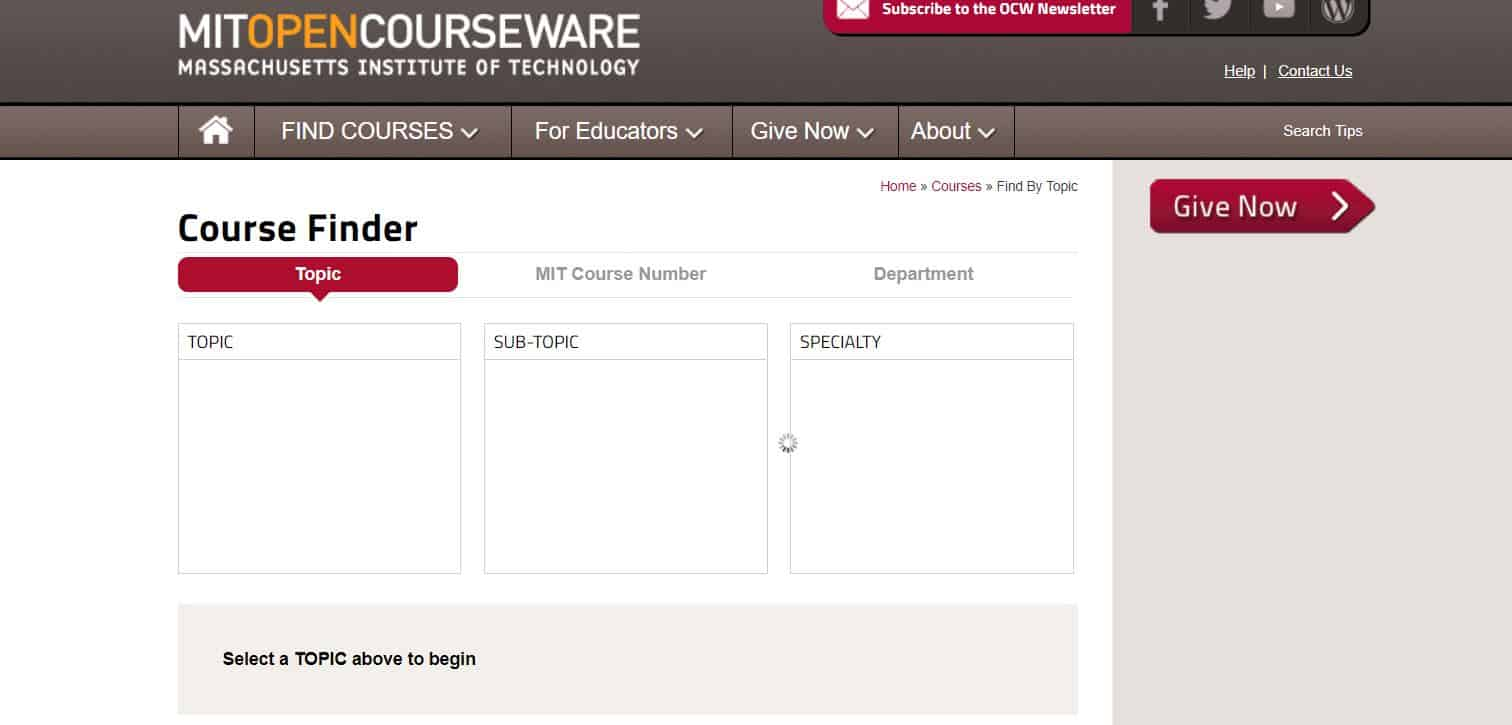 Learn to Code with MIT Open Course Ware