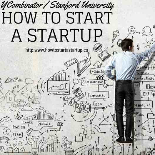 How to Start a Startup