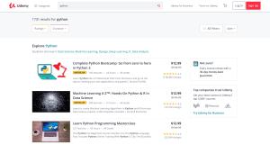 udemy coding reveiw | Python Coding Courses