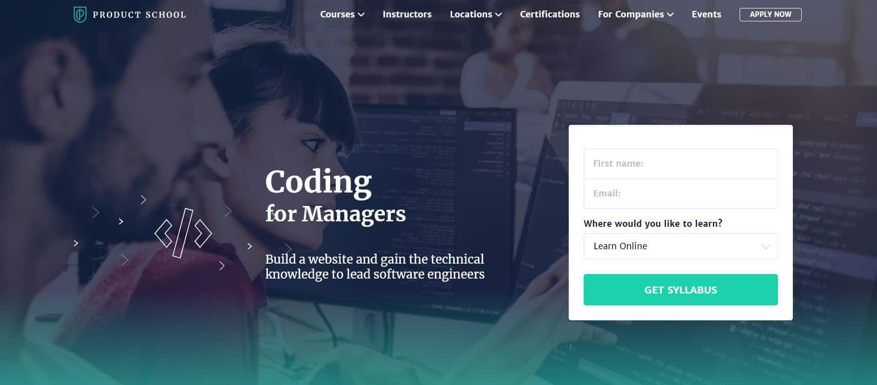 Product School's Coding Courses