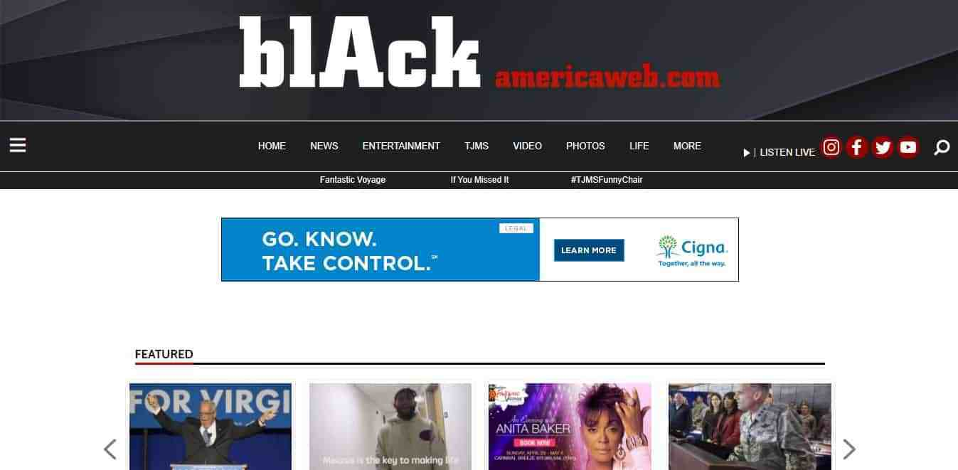 Black America Web uses WordPress