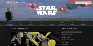The Starwars blog uses WordPress