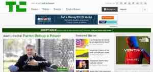 TechCrunch uses WordPress