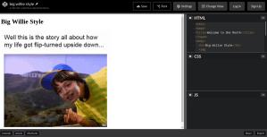 Ejemplo de código HTML