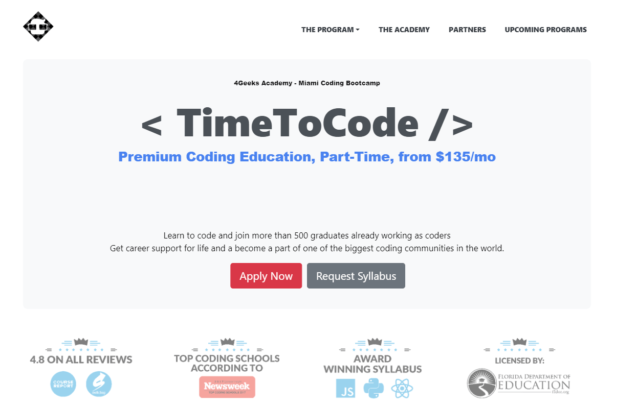 Top 6 Coding Classes in Miami for 2019 - Learn to code in 30 Days