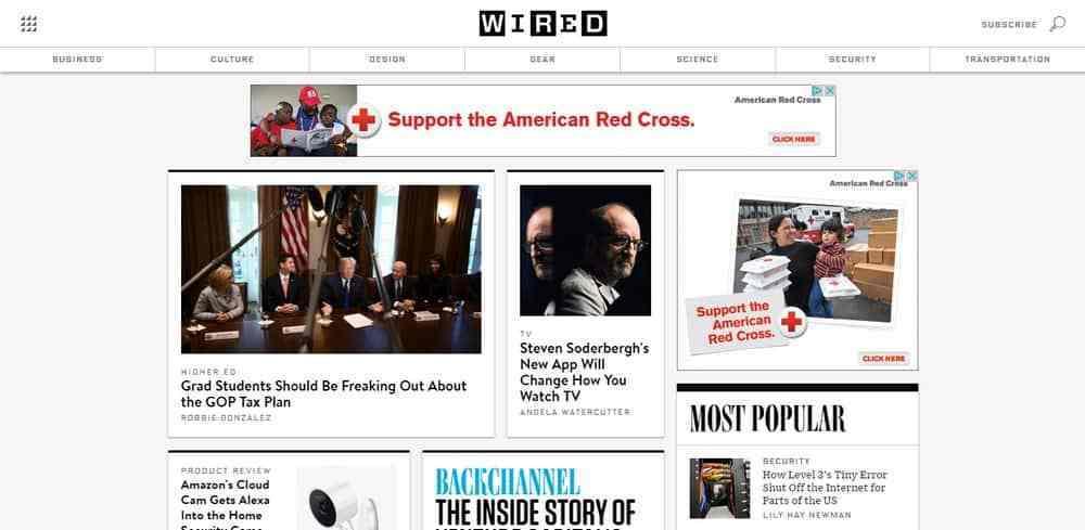 30 exemples de sites WordPress célèbres