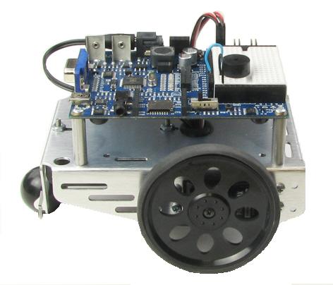 Propeller Boe-Bot assembled