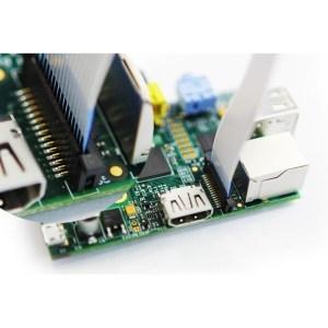 Raspberry Pi Camera Board Connected