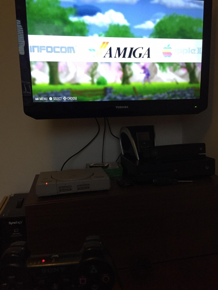 RetroPie and PS3 Controller Paired