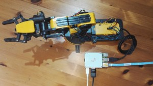 Raspberry Pi As Robotic Arm Controller with Flick Hat • Pi Supply