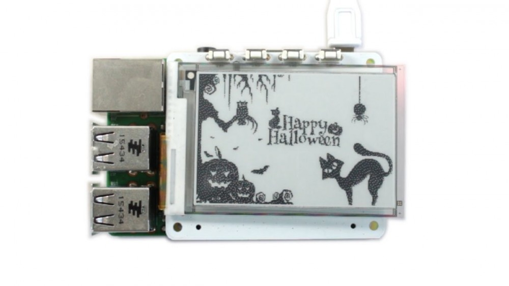 PaPiRus ePaper Animations for Halloween on Raspberry Pi