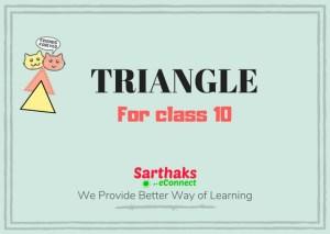 triangle class 10