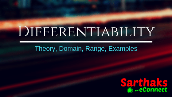 Differentiability for class 11